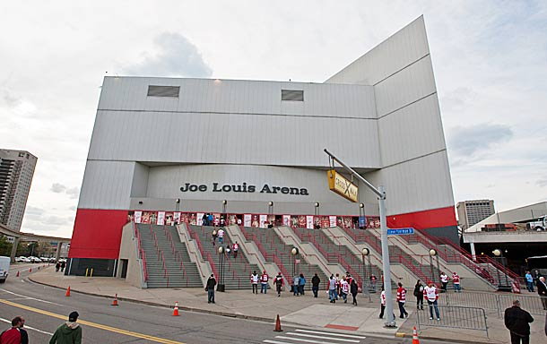 Joe Louis Arena, the Red Wings' current home, opened in December 1979.