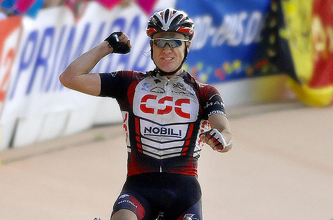 The 39-year-old Australian rider is a six-time Olympian and a stage winner on the Tour de France.
