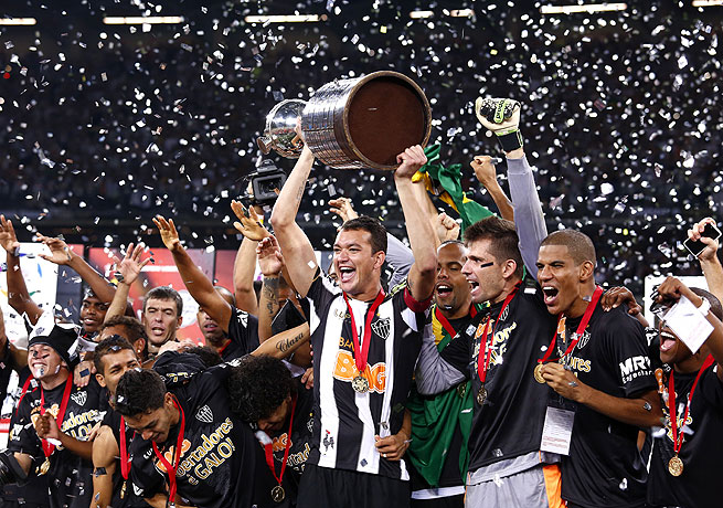 Atletico Mineiro was down two goals after the first leg but fought back to clinch the trophy.