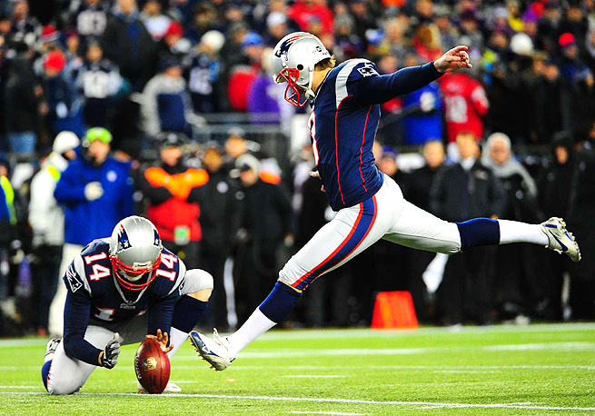 Stephen Gostkowski made 100 percent of his extra point attempts for the Patriots last year.