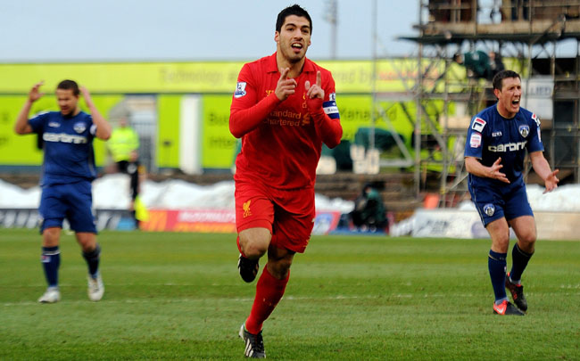 Luis Suarez has been linked with a move to Arsenal.