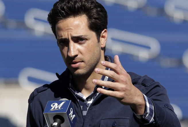 Ryan Braun was one of the players named in Biogenesis documents leaked by Porter Fischer.