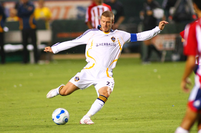 David Beckham's beginning with the L.A. Galaxy had plenty of hitches, and led to a lot of chaos.