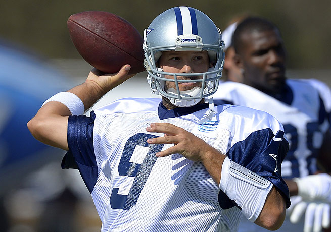 Quarterback Tony Romo recently signed a franchise-record contract with the Cowboys.