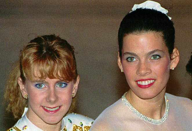 The attack on Nancy Kerrigan by Tonya Harding's ex-boyfriend made put both skaters in the spotlight in 1994.