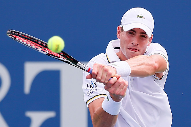 John Isner previously lost in the Atlanta final in 2010 and 2011 to fellow American Mardy Fish.