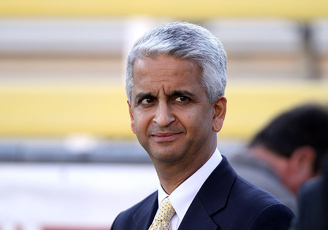 U.S. Soccer president Sunil Gulati was recently placed on FIFA's Executive Committee.