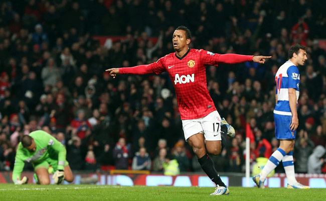 Nani joined Manchester United from Sporting Lisbon in 2007.