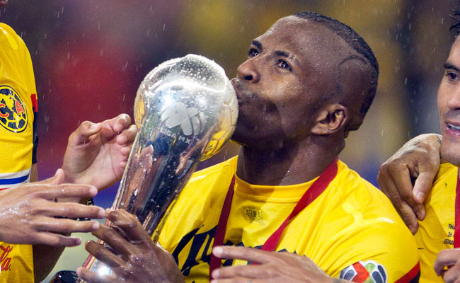 Christian Benitez won the Liga MX Clausura title with Club America in May.