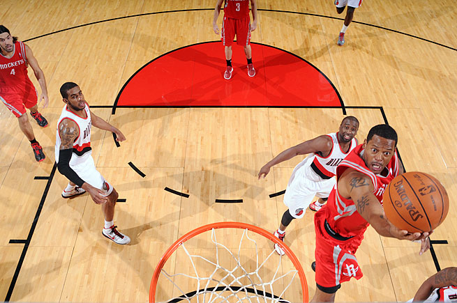 Marcus Camby played 19 games for the Rockets in 2011-12 before being traded to the Knicks.