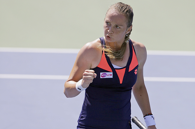 Slovakia's Rybarikova rallied past Christina McHale for a 2-6, 6-4, 6-2 victory at the Citi Open.