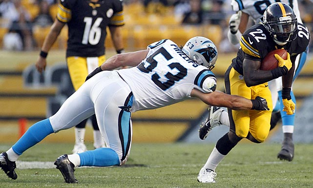 Jason Phillips, a fifth-year linebacker who played for Carolina and Baltimore before joining Philadelphia, tore his right ACL in a July 29th practice and is out for the year.