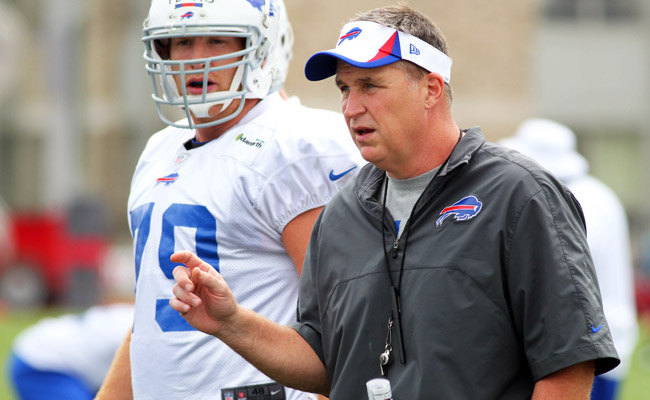 Buffalo's Doug Marrone is starting his first season as an NFL head coach.