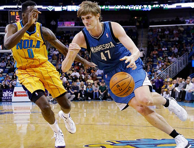 Andrei Kirilenko averaged 12.4 points, 5.7 rebounds and 2.8 assists for the Timberwolves last season.