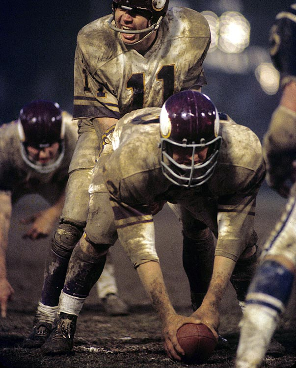 In 17 years with the Vikings, Tingelhoff never missed a game, making 240 consecutive regular-season starts. He was a six-time Pro Bowl pick and a five-time, first-team All-Pro selection. He never has been a finalist for the Hall of Fame. Also worthy of consideration: Ray Donaldson, Jeff Van Note, Kent Hull.