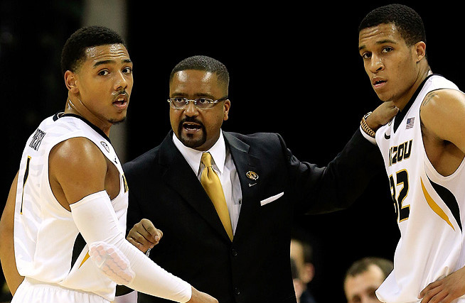 Despite the departure of point guard Phil Pressey (left), coach Frank Haith thinks Missouri can be very good next season.