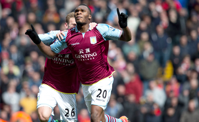 Despite rumors of a move to Tottenham, star striker Christian Benteke is returning to Aston Villa.
