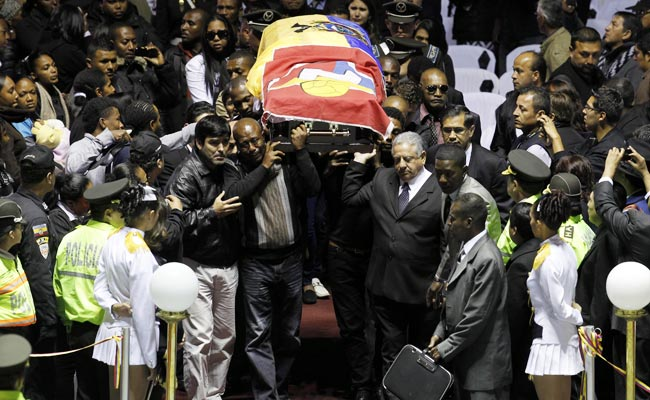 Christian Benitez's funeral was held in Quito, Ecuador on Friday.