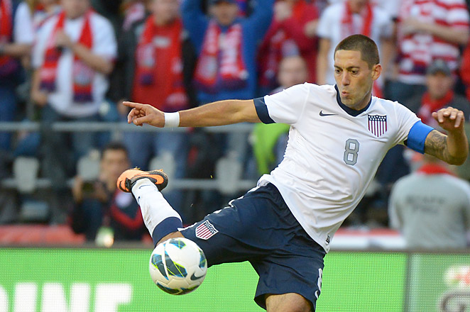 Dempsey played for the New England Revolution in MLS from 2004-06 before joining Fulham in 2007.