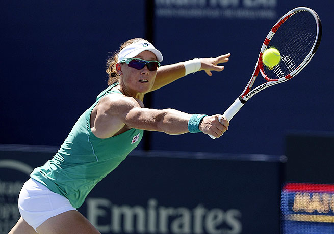 The Southern California Open title was Sam Stosur's first tournament win since the U.S. Open in 2011.