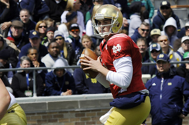 Rees has started 18 games for the Irish over the past three seasons, including all but the opener in 2011.