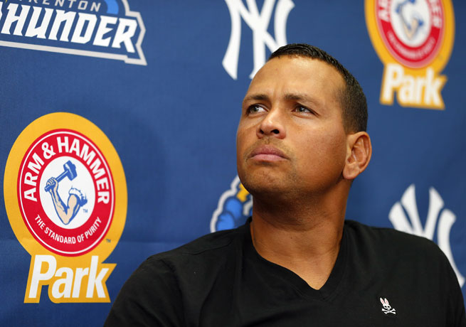 Alex Rodriguez has insisted that he is excited to join his Yankees teammates in Chicago on Monday.