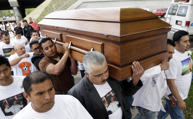 Ricardo Portillo's funeral was held in May in Salt Lake City.