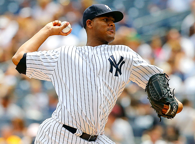Ivan Nova has gone at least seven innings in each of his outings since the beginning of July.