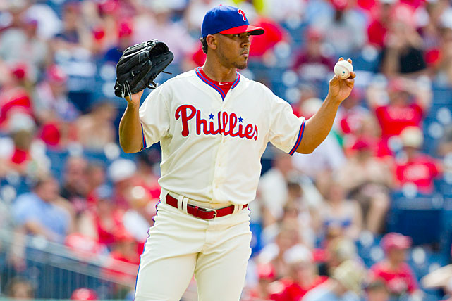 A 27-year-old left-handed reliever, Bastardo has pitched for parts of five seasons with the Phillies and become the team's top setup reliever in front of closer Jonathan Papelbon. After pitching in 64 games in 2011 and 65 in 2012, he has made a team-high 48 appearances this year, pitching to a 2.32 ERA and striking out 9.9 per nine in 42 2/3 innings. Prior to Monday, he had not been publicly linked with Biogenesis.