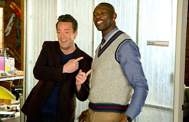 "Owens plays himself alongside Matthew Perry in an episode of <italics>Go On</italics> entitled ""Go Deep."""