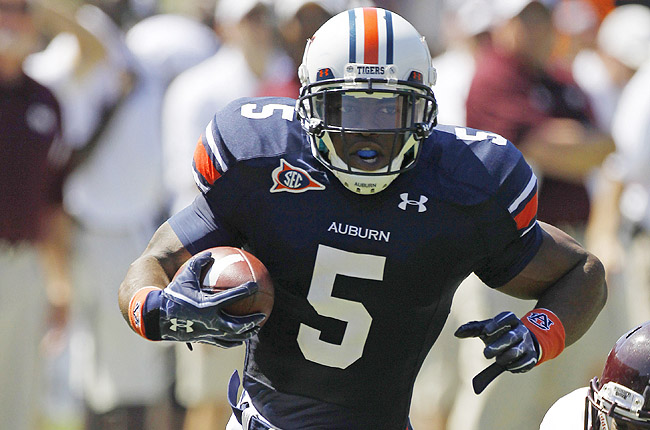 Dyer rushed for more than 1,000 yards in each of his two seasons at Auburn but was dismissed.