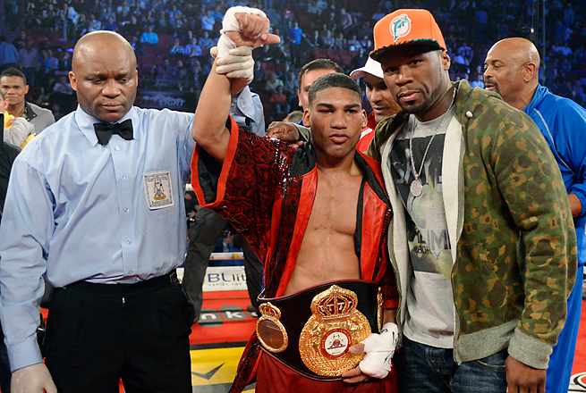 Months after being linked to the Biogenesis PED report, Yuriorkis Gamboa was back in the ring.