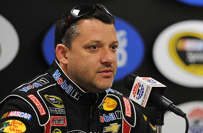 Tony Stewart will miss this week's race and possibly others after breaking his leg in a car crash.