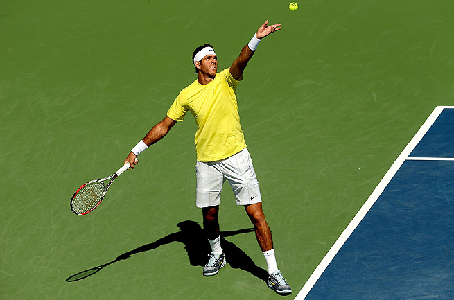 Juan Martin del Potro is still the only men's player other than the Big Four to win a Slam since 2005.