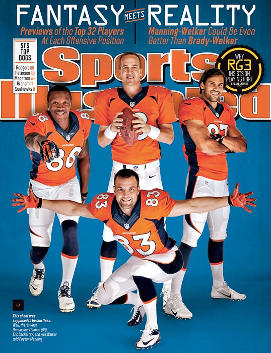 The Broncos have turned a fantasy dream--a QB legend paired with the top pass catcher of the past eight years--into every Lombardi-lusting foe's most frightening reality, according to Chris Ballard in this week's issue.