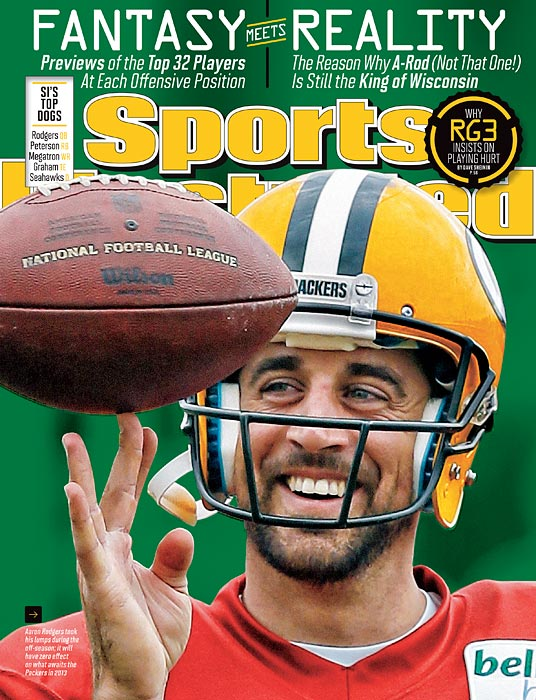 The Packers' quarterback has become the heart of a team, the soul of a city and the voice of a state. For most sports fans, A-Rod and Ryan Braun mean one thing. In Wisconsin, that pairing means something else: betrayal, yes, but then understanding, according to Michael Rosenberg in this week's issue.