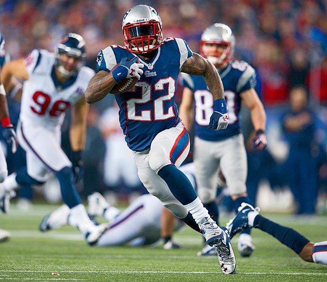 A third-year back from LSU, Stevan Ridley was one of the most efficient per-play backs in the NFL last year, and he could have even more of an impact in an offense suddenly desperate for targets.