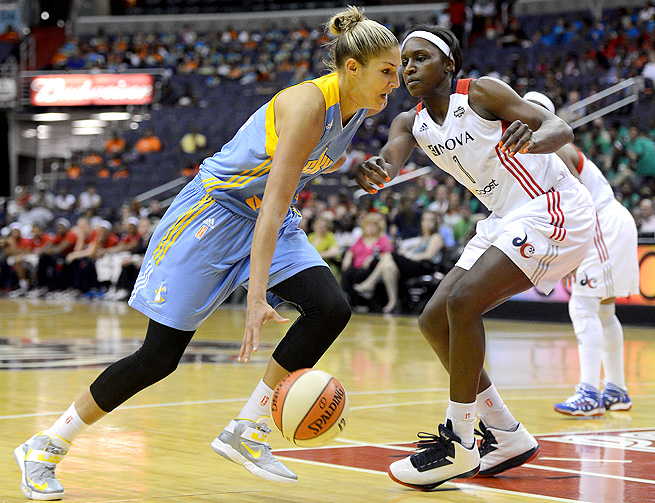 Elena Delle Donne missed almost two weeks, including the All-Star game, while healing from a concussion.