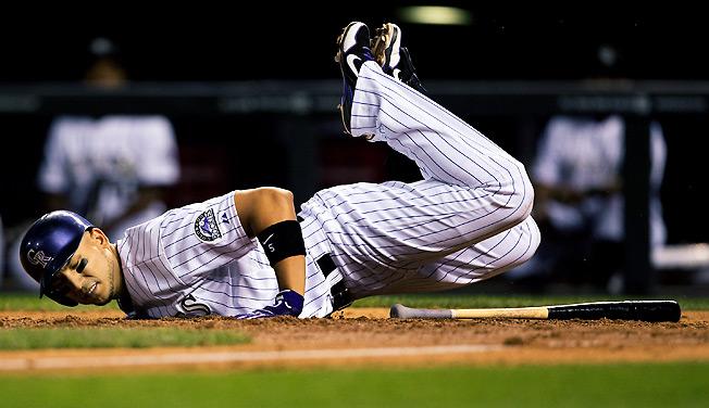 Despite battling injuries this season, Colorado outfielder Carlos Gonzalez has been a fantasy superstar.