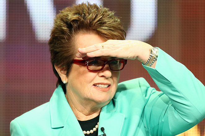"69-year-old Billie Jean King will be the first sports figure to be profiled on PBS' ""American Masters."""