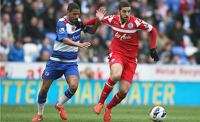 Adel Taarabt scored five goals with five assists in 29 appearances for QPR last season.