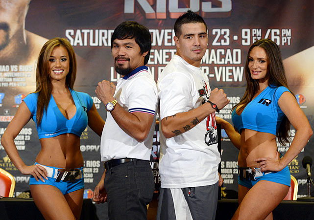 Manny Pacquiao, at one point the best pound-for-pound fighter in the world, will try to get his career back on track in November when he takes on Brandon Rios in China. In advance of that bout, here's a look at some of Pacquiao's biggest fights. SI NOW: Manny Pacquiao on why Mayweather fight hasn't happened