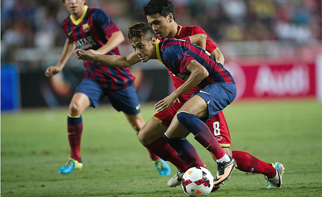 Brazilian sensation Neymar will make his debut in La Liga on Aug. 18 against Levante.
