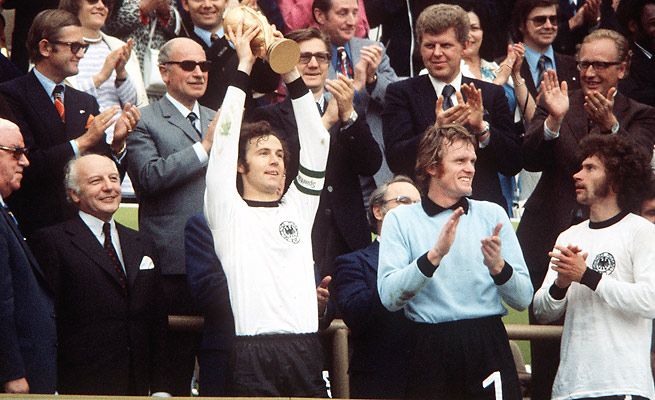 Franz Beckenbaur, captain of the 1974 West German team that won the World Cup, denied any connection to doping allegations against West Germany's 1966 team.