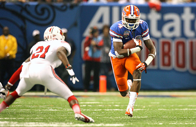 Florida's Andre Debose will miss his entire senior season after suffering a torn ACL in his left knee.