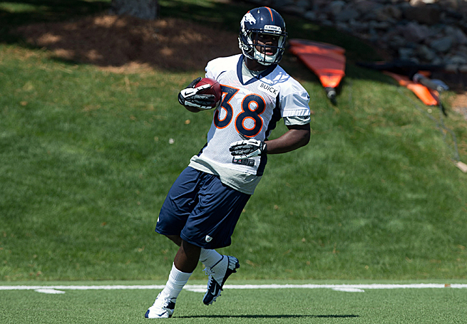 Montee Ball has the potential to separate himself from Denver's other backs with his running style.