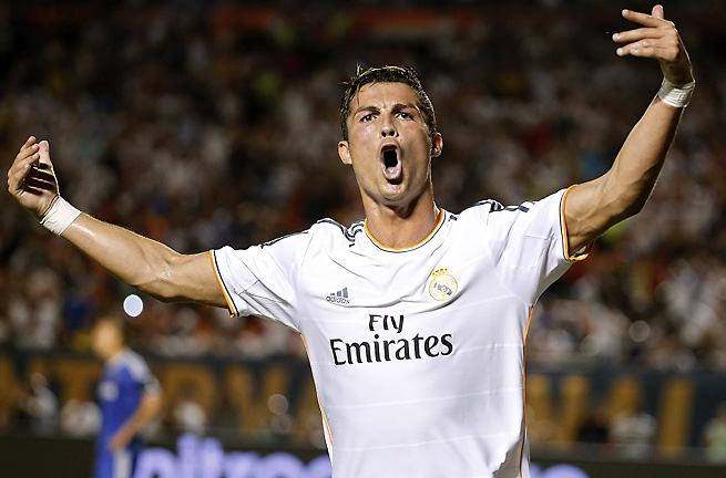 Cristiano Ronaldo stole the show on Wednesday night, scoring two goals in Real Madrid's 3-1 win.
