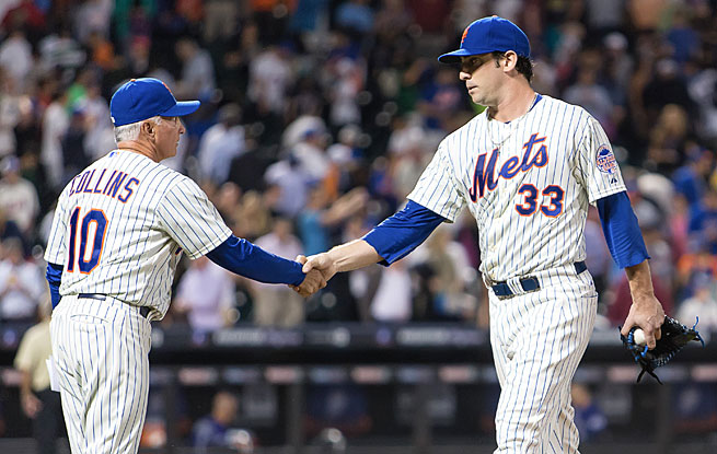 Mets manager Terry Collins will have to decide soon how much more he can get out of Matt Harvey this season.