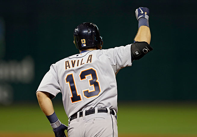 Catcher Alex Avila has been a central part of Detroit's winning streak both at the plate and behind it.