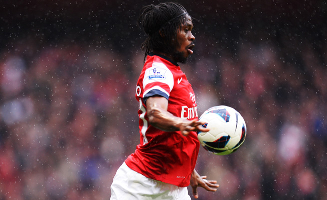 Gervinho scored 11 goals in 63 appearances for Arsenal over the past two seasons.